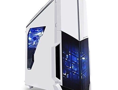 SkyTech ArchAngel GTX 1050 Ti Gaming Computer Desktop PC FX-6300 3.50 GHz 6-Core, GTX 1050 Ti 4GB, 8GB DDR3, 1TB HDD, 24X DVD, Wi-Fi USB, House windows 10 Educated Sixty 4-bit, White (GTX 1050 Ti Model)
