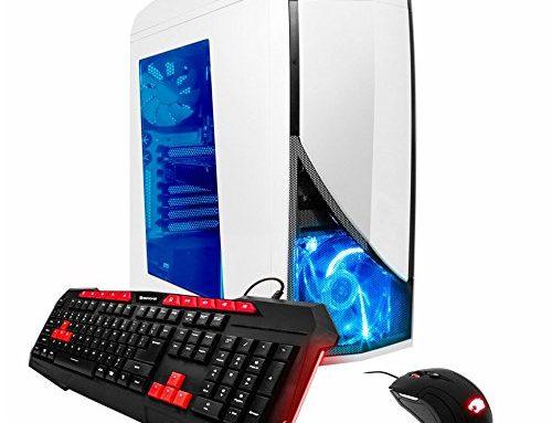 iBuyPower GTX 1050 TI Gaming Pc Desktop PC AM8270EX AMD FX 6300 three.5 GHz GTX 1050 Ti 4GB, 8GB DDR3, 1TB HDD 7200 RPM, Dangle 10 Dwelling, 24x DVD-RW, White