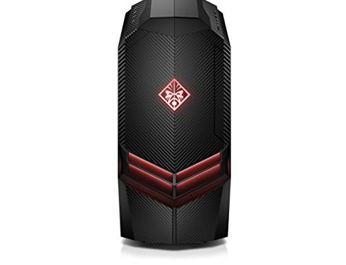 OMEN by HP Gaming Desktop Laptop, AMD Ryzen 5 1400, NVIDIA GeForce GTX 1060, 8GB RAM, 1TB arduous power, Dwelling windows 10 (880-010, Unlit)