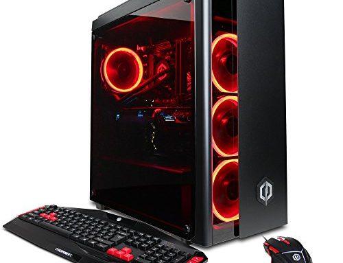 CYBERPOWERPC Gamer Xtreme VR GXiVR8080A2 w/Liquid Cooled Overclockable Intel i7-8700K three.7GHz CPU, 16GB DDR4, NVIDIA GTX 1080 Ti 11GB, 240GB SSD, 1TB HDD & Win10 64-Bit