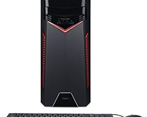 Acer Aspire Gaming Desktop, 7th Gen Intel Core i7-7700, NVIDIA GeForce GTX 1060, 16GB DDR4, 1TB HDD, GX-785-UR18