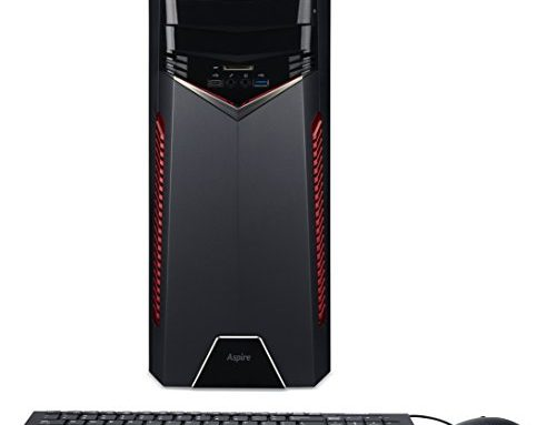 Acer Aspire Gaming Desktop, AMD Ryzen 7 1700X Processor, NVIDIA GeForce GTX 1060, 16GB DDR4, 256GBSSD, 1TB HDD, GX-281-UR12