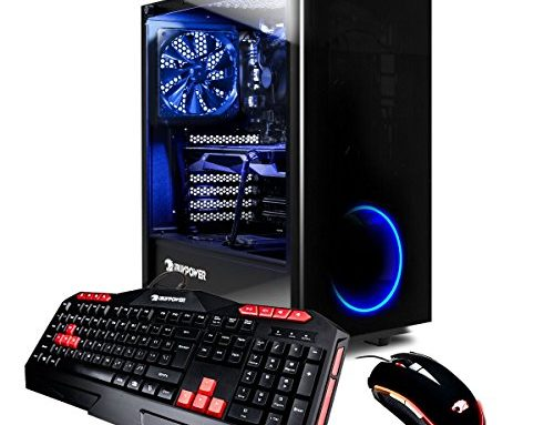 iBUYPOWER Elite Gaming PC Desktop AMD Ryzen 7 1800X three.6GHz, AMD Radeon RX 580 4GB Graphics, 16GB DDR4 RAM, 1TB HDD, 120GB SSD, Ranking 10 Home Sixty Four-bit, View21 035A
