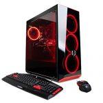 CYBERPOWERPC Gamer Xtreme VR GXiVR8160A Gaming PC (Intel i7-8700K three.7GHz, 16GB DDR4, NVIDIA GeForce GTX 1070 8GB, 240GB SSD+2TB HDD & Win10 Dwelling) Gloomy