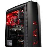 Skytech Gaming ST-SHADOW-II-002 Gaming Pc Desktop PC AMD Ryzen 5 1400,GTX 1060 3GB, 1TB HDD,sixteen GB DDR4, Dwelling windows 10 Dwelling, Sad