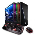iBUYPOWER Skilled Gaming Computer Desktop PC Intel i7-9700k Eight-Core three.6 GHz, Geforce RTX 2070 8GB, 16GB DDR4, 1TB HDD, 240GB SSD, Z370, Liquid Cooling, WiFi Willing, Home windows 10, VR Willing (Tag 9230, Shadowy)