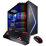 iBUYPOWER Elite Gaming PC Desktop Laptop Slate2 084i (Intel i5-9400F 2.9GHz, NVIDIA GeForce GTX 1660 Ti 6GB, 480GB SSD, 8GB DDR4-2666 RAM, Wifi Incorporated, RGB Lighting, Earn 10 Home sixty Four-bit) Gloomy