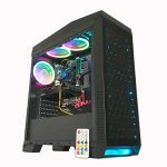 Gaming PC RGB Desktop Computer Intel i5-2400 3.10GHz, Ram 8GB, Onerous Force 1TB,Windows 10, Video Card Nvidia GTX 1060 3GB VR Willing Ethernet and WiFi for Serous High Quit Gaming