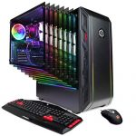CyberpowerPC Gamer Grasp GMA8900CPG Gaming PC (AMD Ryzen 5 1400 Three.2GHz, 8GB DDR4, AMD Radeon Rx 570 4GB, 480GB SSD, 802.11AC WiFi & Get 10 Home) Sunless