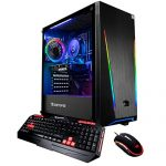 iBUYPOWER Gaming PC Computer Desktop Trace2 9250 (Intel Core i7-9700F Three.0GHz, NVIDIA GeForce GTX 1660 Ti 6GB, 16GB DDR4, 240GB SSD, 1TB HDD, WiFi & Earn 10 Residence) Dim