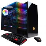 CYBERPOWERPC Gamer Xtreme VR Gaming PC, Liquid Cool Intel Core i9-9900K three.6GHz, NVIDIA GeForce RTX 2070 Edifying 8GB, 16GB DDR4, 1TB PCI-E NVMe SSD, WiFi Willing & Win 10 Home (GXiVR8080A8, Black)