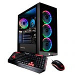 iBUYPOWER Gaming PC Computer Desktop Ingredient 9260 (Intel Core i7-9700F 3.0GHz, NVIDIA GeForce GTX 1660 Ti 6GB, 16GB DDR4, 240GB SSD, 1TB HDD, WiFi & Win 10 Dwelling) Dismal