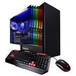 iBUYPOWER Fanatic Gaming PC Pc Desktop ARCB 108A (AMD Ryzen 3 3200G 3.6GHz, NVIDIA Geforce GT 710 1GB, 8GB DDR4, 1TB HDD, WiFi & Gain 10 Home) Black