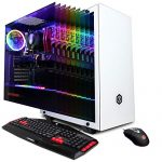 CyberpowerPC Gamer Grasp Gaming PC, AMD Ryzen 5 3600 Three.6GHz CPU, NVIDIA GeForce GTX 1660 6GB, 16GB DDR4, 512GB Pci-E Nvme SSD, WiFi Willing & Receive 10 Dwelling (GMA1400A, White)