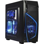 Gaming Desktop – AMD RYZEN 1300X Three.5GHz Quad Core CPU, NVIDIA GTX 1060 3GB Graphics, 16GB DDR4 Memory, 240GB SSD, 1TB HDD, WiFi, VR Ready